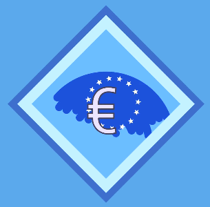 and here is the Euro