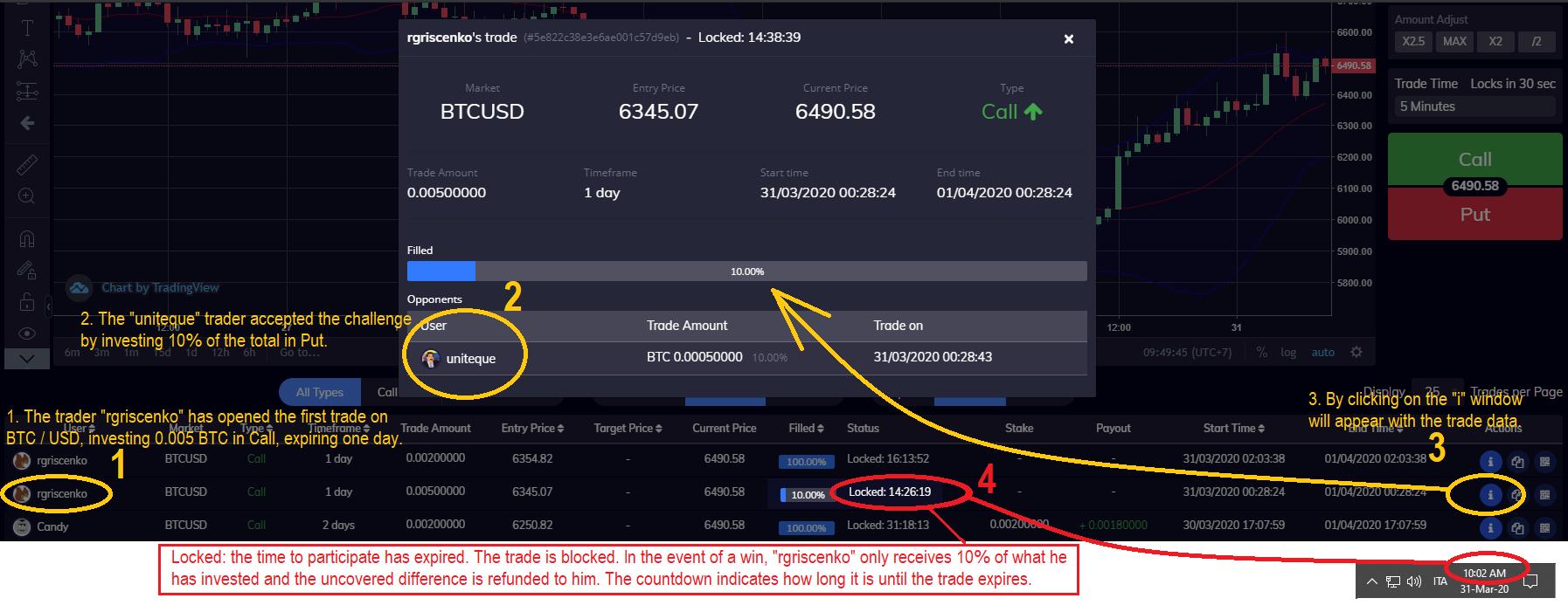 TRIBTC  Trading Platform Tutorial