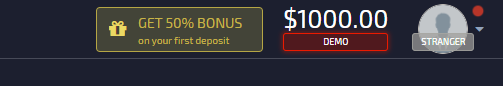 Bonus 50% Pocket Option