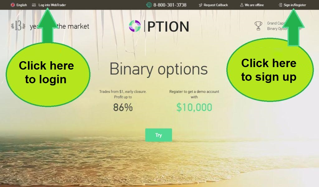 GCOption Review binary options