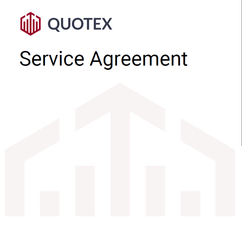 QUOTEX Service Agreement